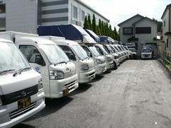 多彩な車両による軽貨物運送業